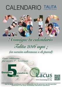 Calendario Talita 2016