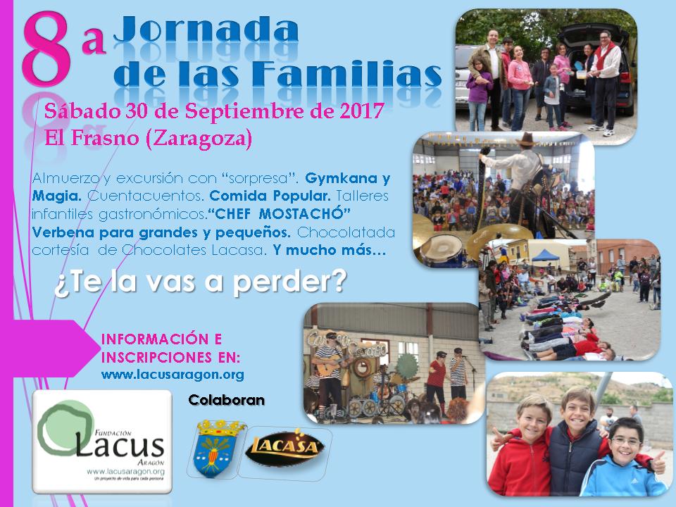 Cartel 8ª Jornada de las Familias