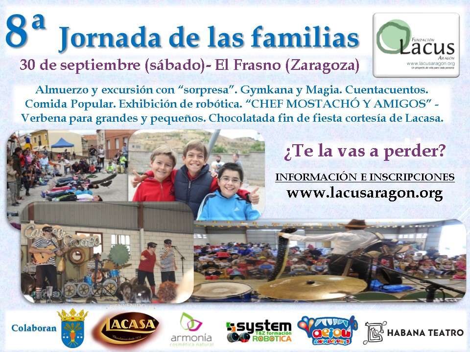 Cartel definitivo 8ª Jornada de las Familias